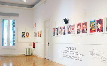 TV Boy artist expone en P Art Ibiza
