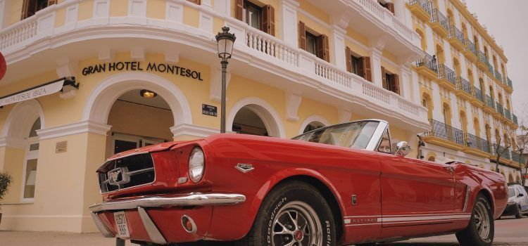 Hotel Montesol Ibiza Mustang alquiler coches