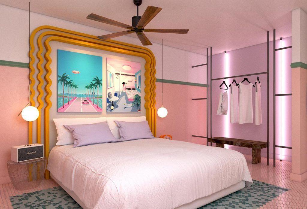Habitación Hotel Paradiso en Ibiza