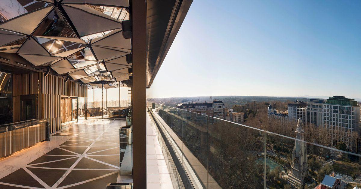 Gynkgo Skybar Madrid